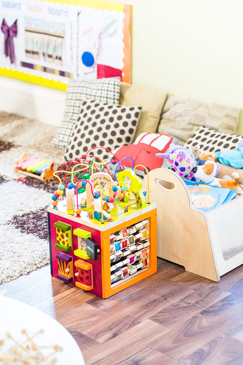 nursery playrooms and activities