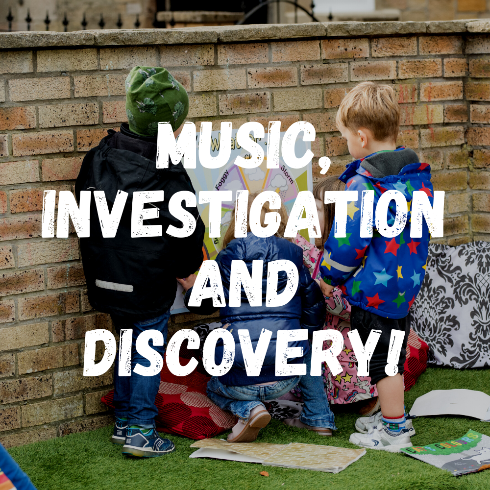 Investigation And Discovery! Preschool