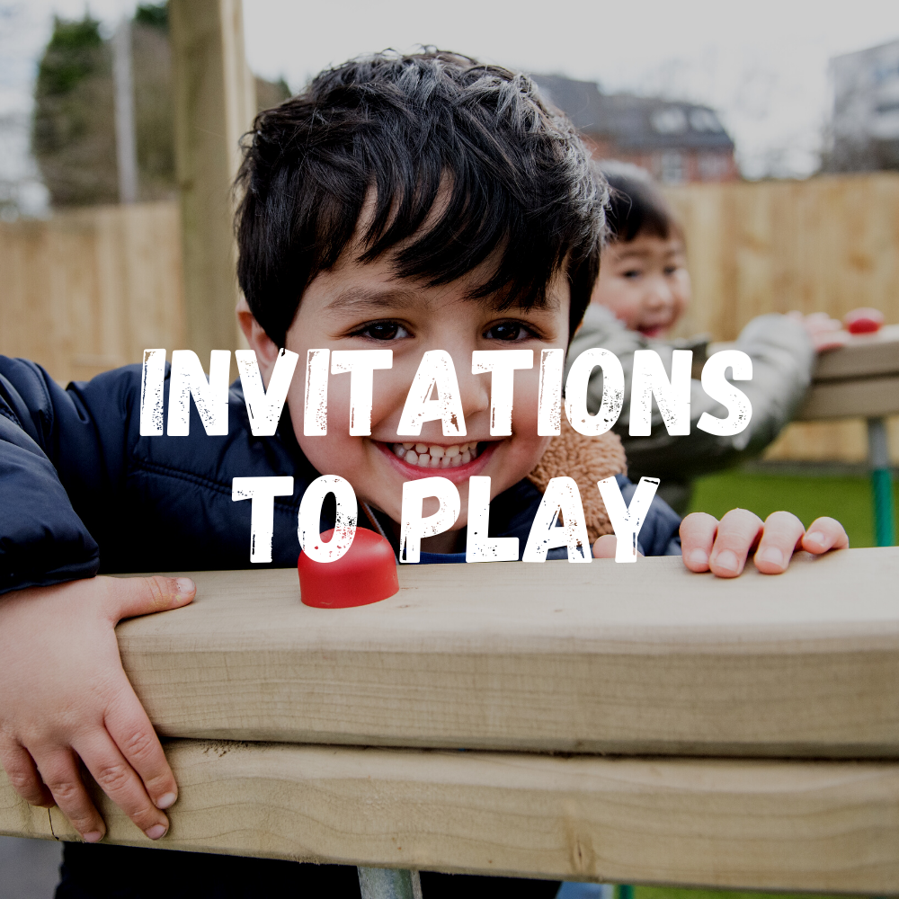 Invitations To Play Toddlers