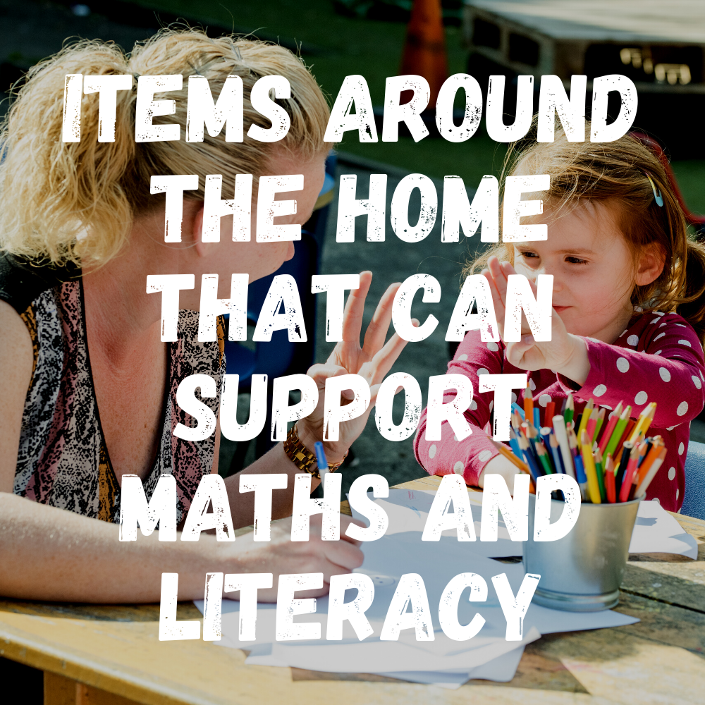Items Around The Home That Can Support Maths And Literacy Preschool
