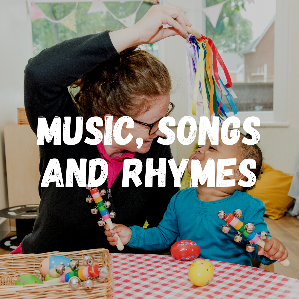 Music, Songs And Rhymes Babies