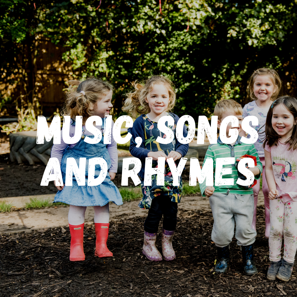 Music, Songs And Rhymes Toddlers