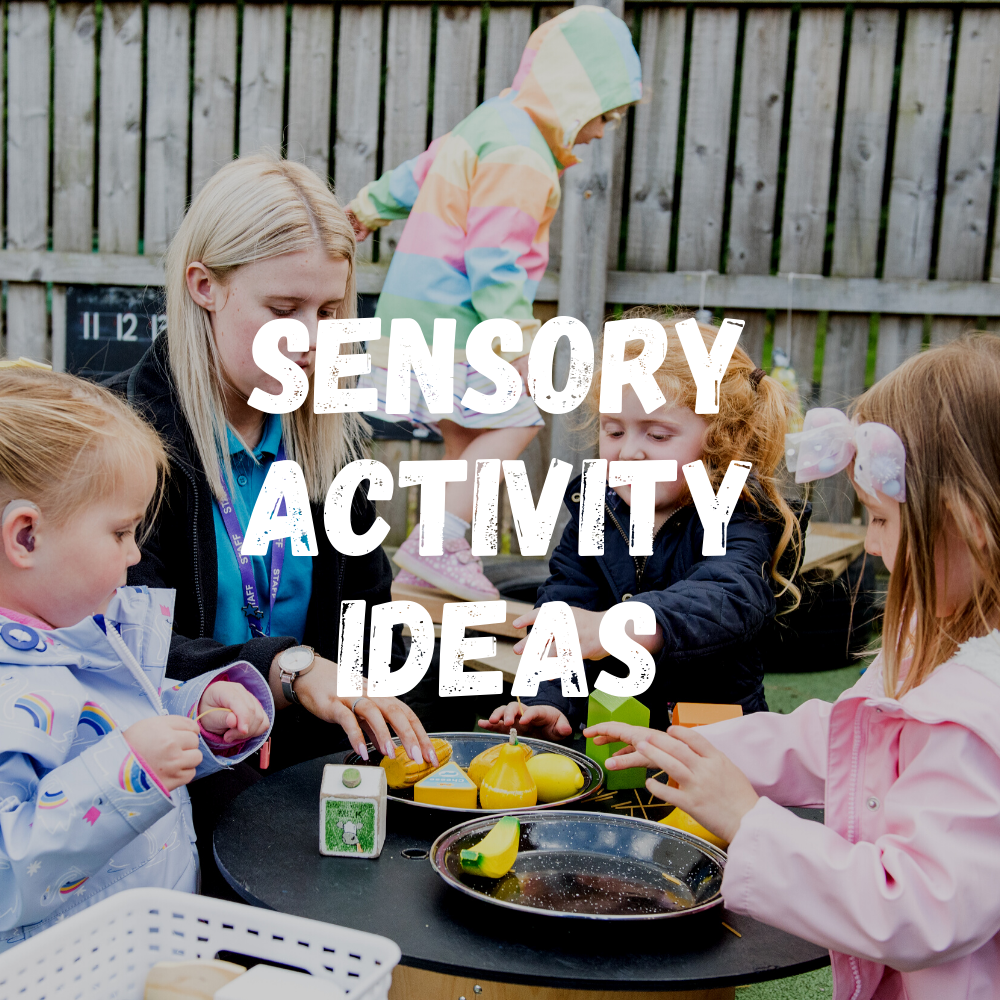 Sensory Activity Ideas Toddlers 3
