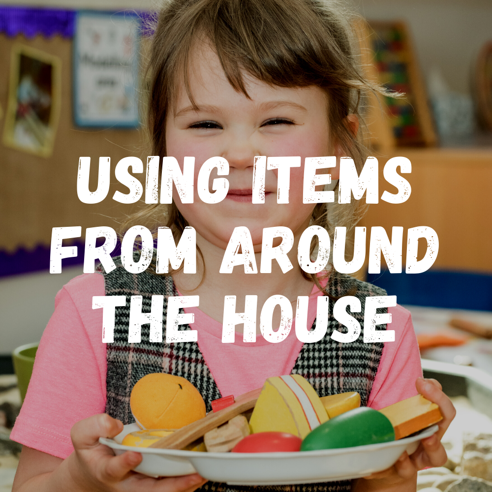 Using Items From Around The House Preschool