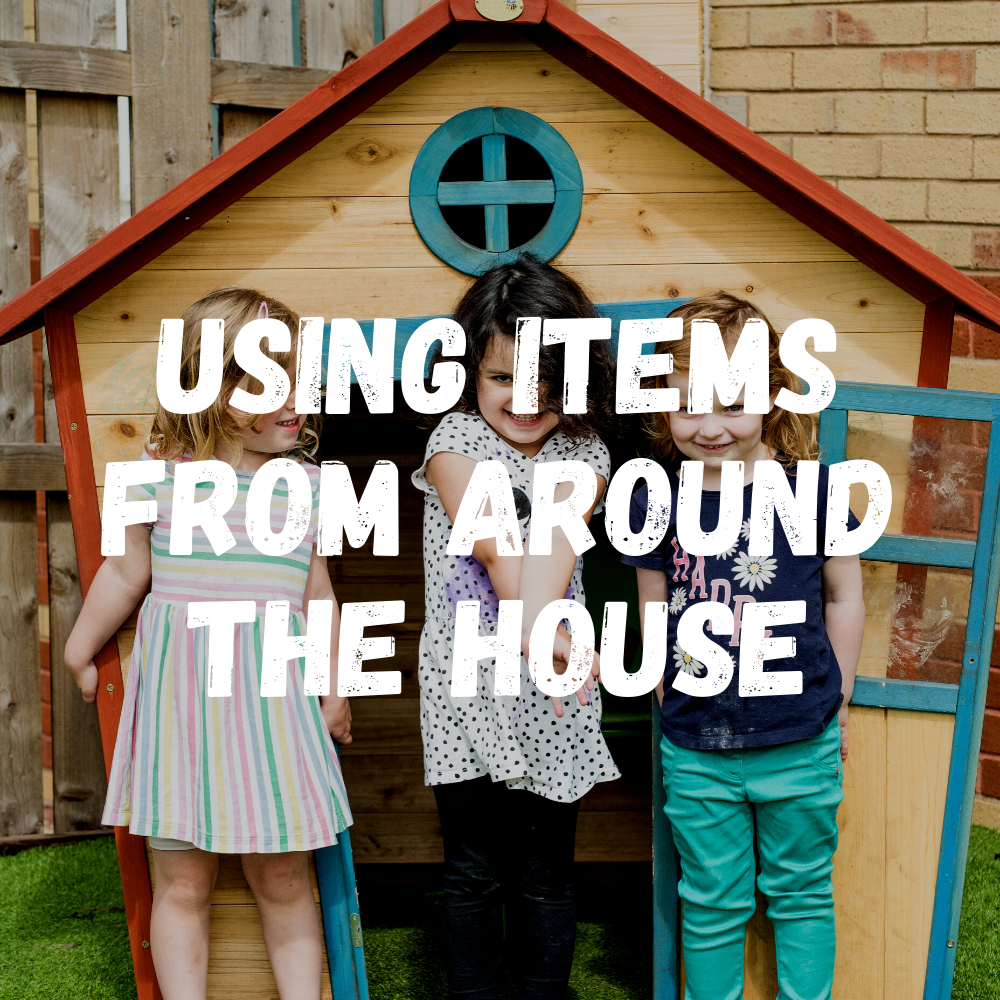 Using Items From Around The House Toddlers